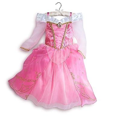 Amazon.com: Disney Store Aurora Sleeping Beauty Costume Dress ...