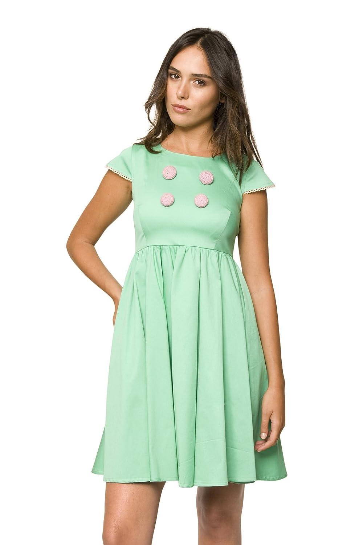 Elo?se Aquamarine Dress