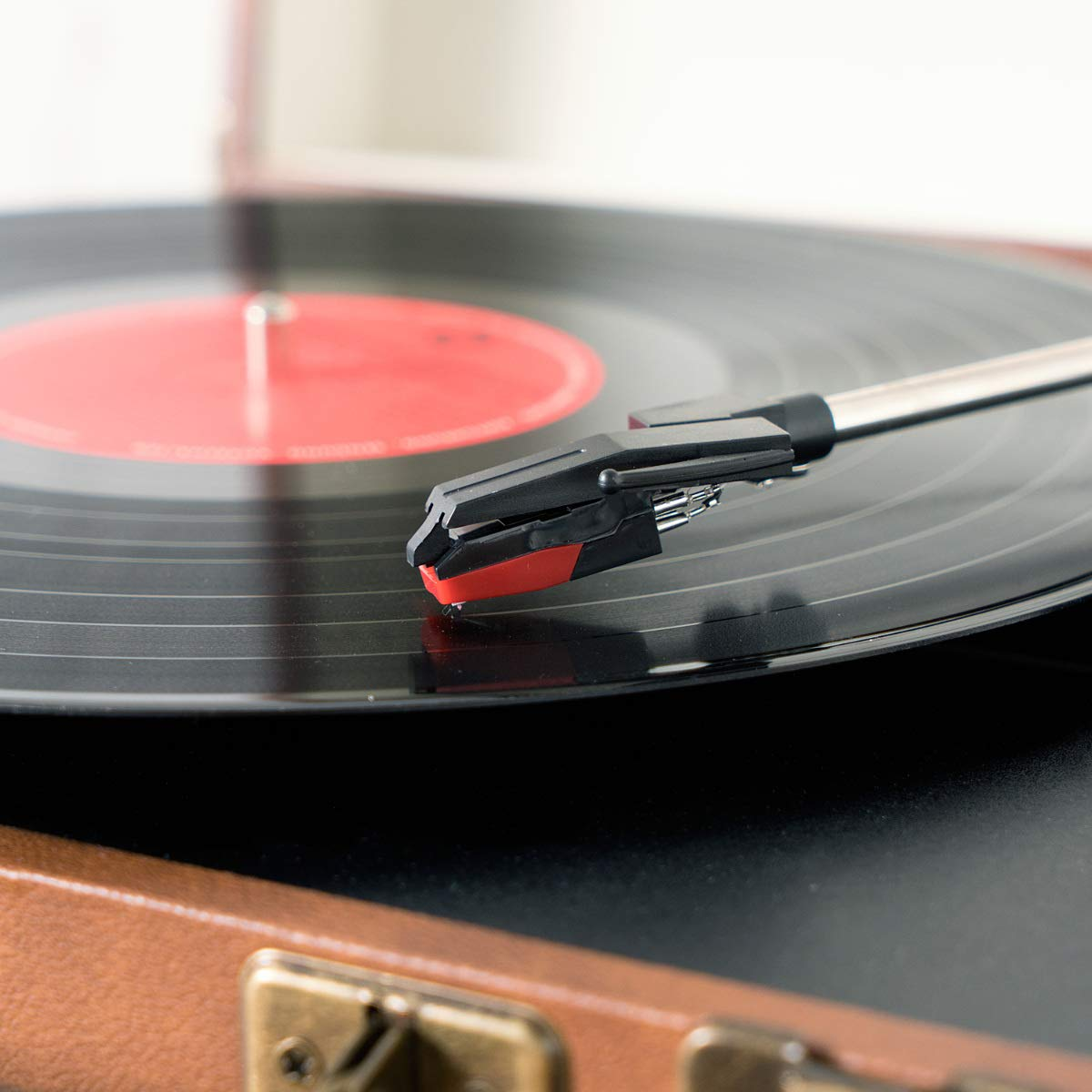 Navaris 2x Agujas de recambio para tocadiscos - Aguja universal de ...