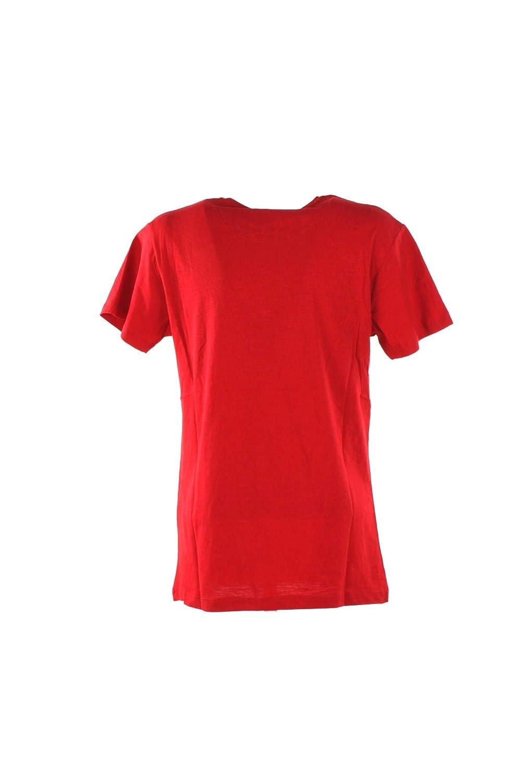 Yes Zee T-Shirt Uomo S Rosso T759 Tl09 Primavera Estate 2019