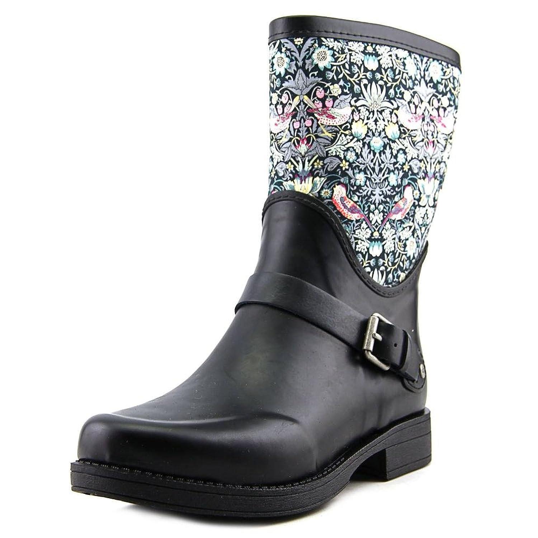 9a2c3fea769 UGG Women's Sivada Rain Boot, Black, 7 B US: Amazon.co.uk: Shoes & Bags