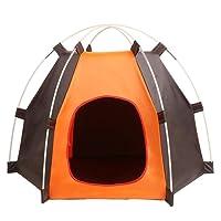 Cuccia pieghevole da interno ed esterno per gatti, portatile, tenda impermeabile per piccoli cani e altri piccoli animali