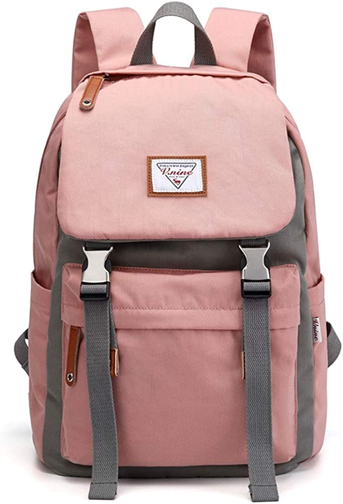 BWYLG Multi-functional Travel Backpack Outdoor Travel Large Capacity Anti-theft Backpack Mens Backpack 13.3//14 Inch Computer Bag Color : Pink