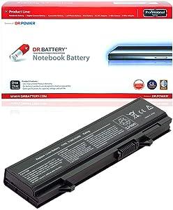 DR. BATTERY Latitude E5400 E5410 E5500 E5510 Battery Compatible with KM742 KM769 WU841 KM771 KM752 KM760 KM970 MT186 MT332 PW649 RM661 312-0746 312-0762 451-10616 WU843 Y568H[11.1V/4400mAh/49Wh]