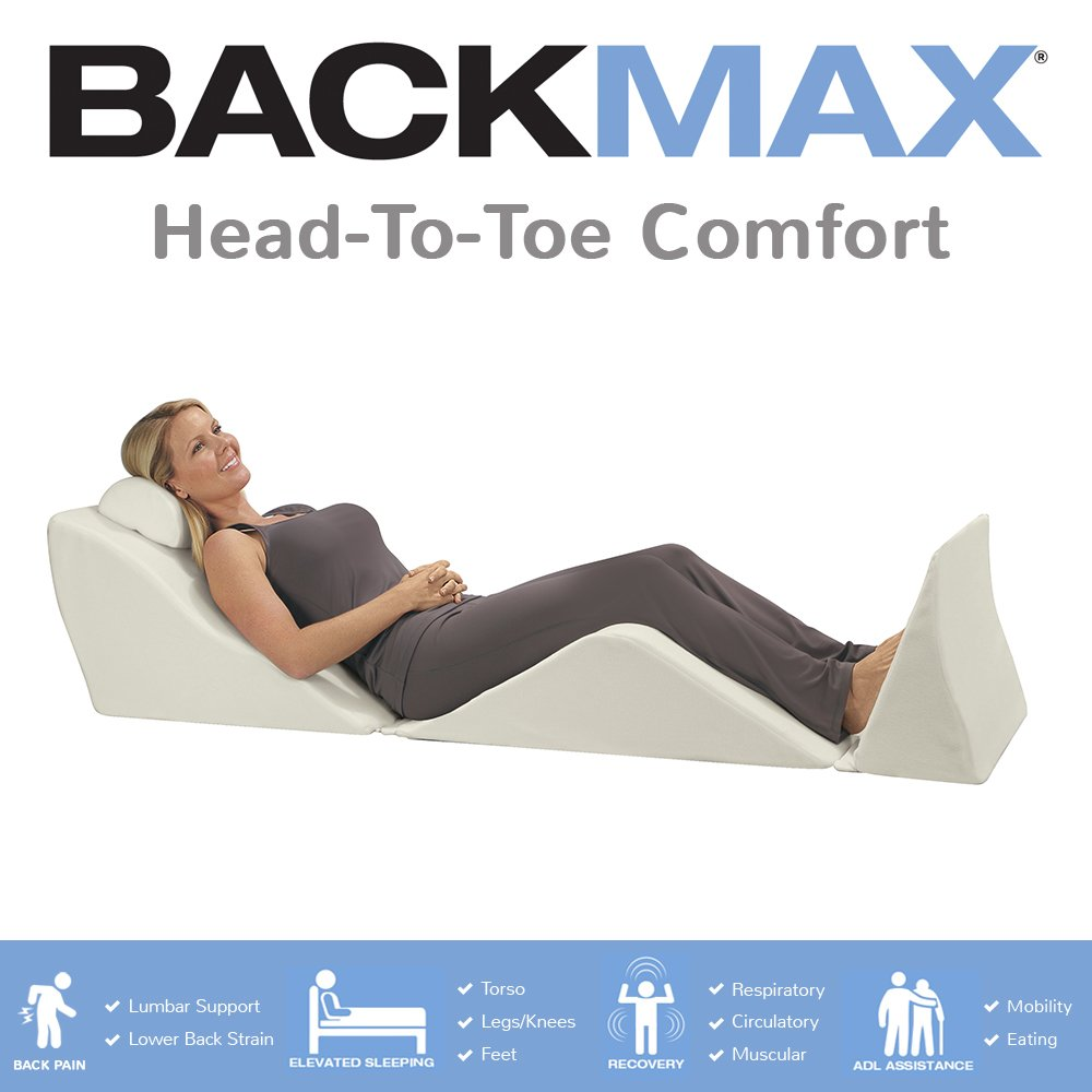 Contour Products BackMax Full Body Foam Bed Wedge Pillow System, Plus 2.0 by Contour (Image #3)