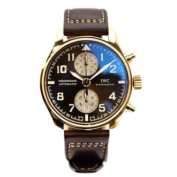 IWC da Vinci automatic-self-wind Mens Reloj IW387805 (Certificado) de segunda mano: IWC: Amazon.es: Relojes