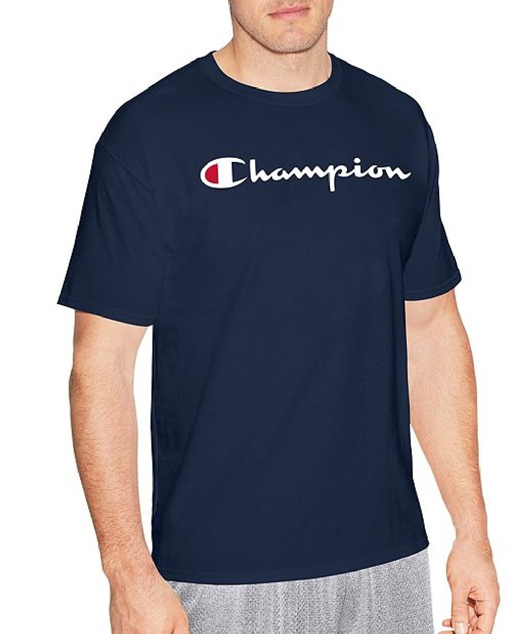 Champion LIFE Men's Heritage Tee, Blue/Navy, XX-Large by Champion LIFE
