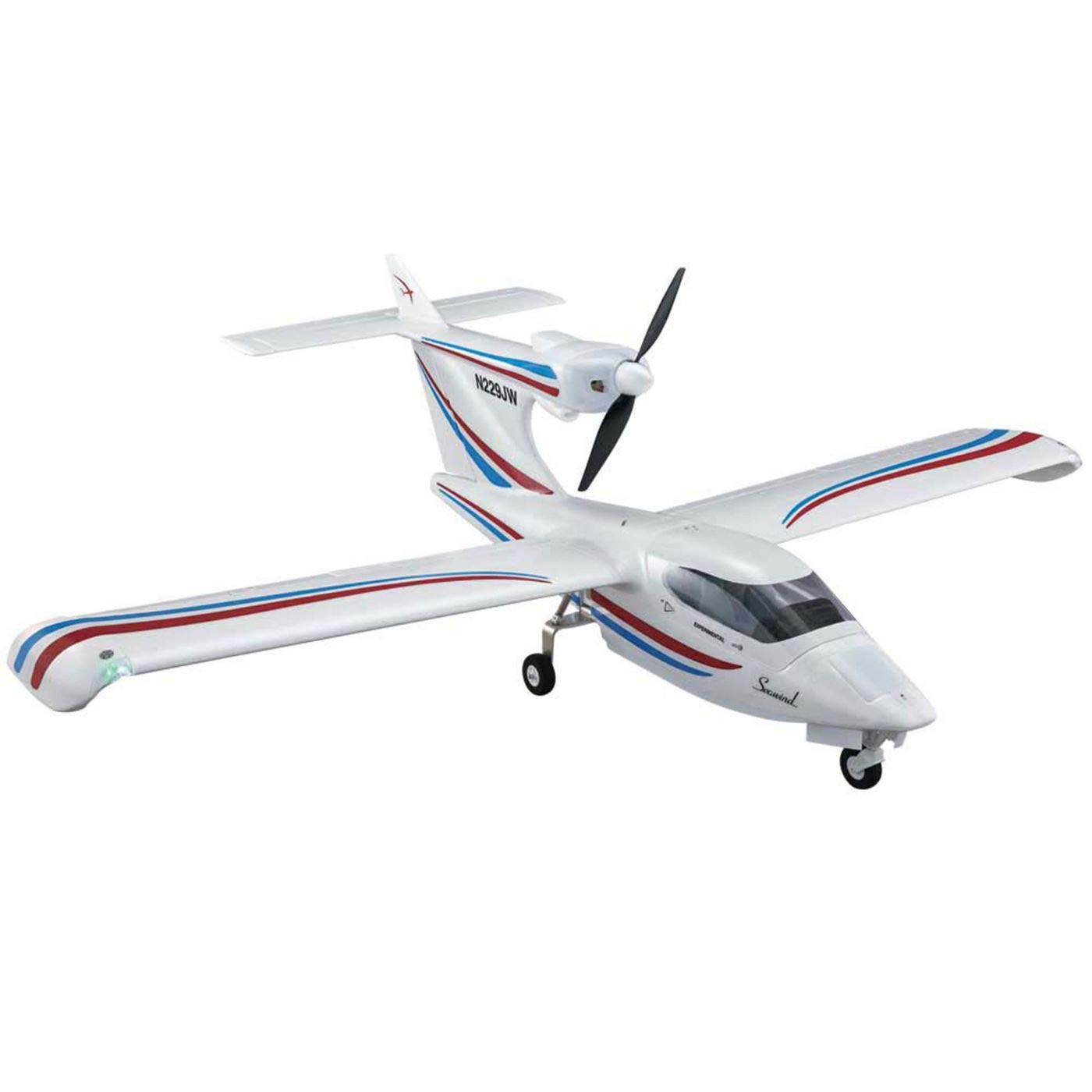 Flyzone Seawind Brushless Electric Powered Receiver Ready 56.5 Inches Wingspan Amphibious Model Seaplane by Flyzone