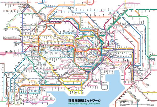 路線図 - 東京エリア - Yahoo!路線情報