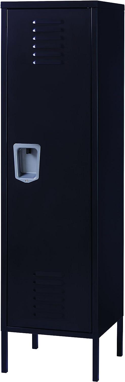 Office Dimensions Personal Locker Storage Cabinet, Black
