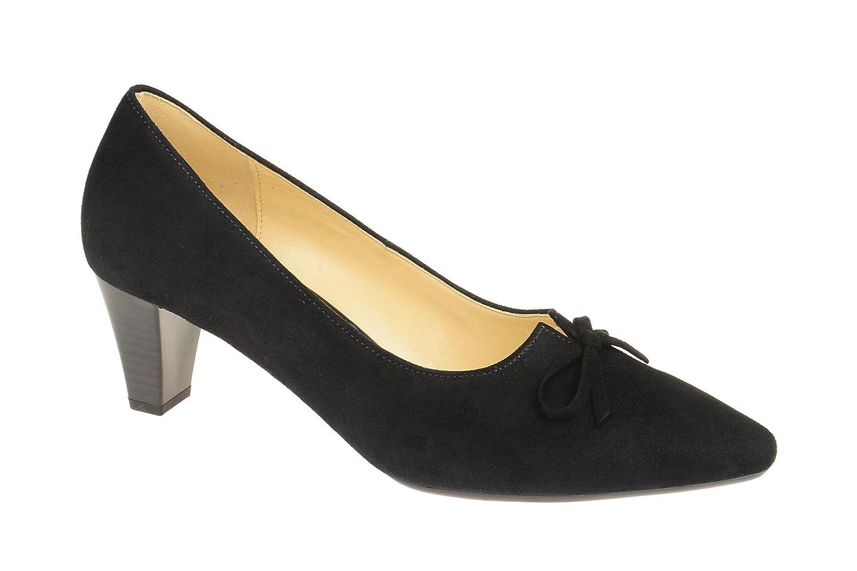 Damänner Comfort Gabor Sandalette Sommerschuhe Gold Schuhe