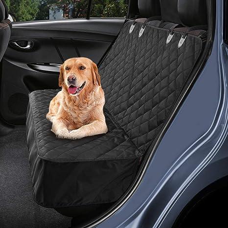 Petacc Hundedecke Für Auto Rückbank Hundedecke Kofferraum Wasserdicht Und Rutschfest Für Komplett Abgedeckt Haustier Autositz Umfassen Haustier
