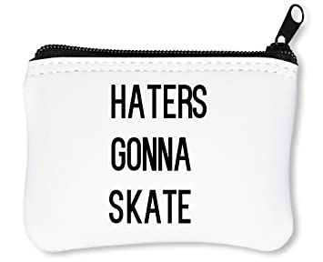 Hatters Gonna Skate Dope Slogan Billetera con Cremallera Monedero Caratera: Amazon.es: Equipaje