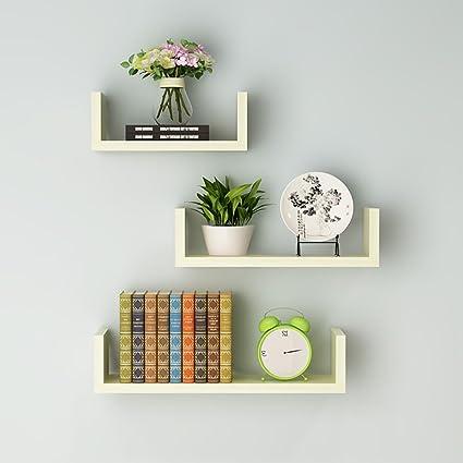 Un Insieme Di Mensole.Aluk Mensola A Muro Di Mensole Libreria Rack Di Fiori