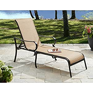 Amazon.com : This Set of 2 Patio Lounge Chairs Made of ...