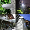 Art To Real Outdoor Garden Solar Light - 16 LEDs Radar Motion Sensor Bright Lights - Wireless Weatherproof Solar Night Light Security for Garden Patio Yard and Driveway