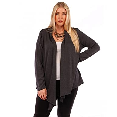 Temptation Clothing Cardigan Sweater Plus Size 4x 5x 6x Gray At