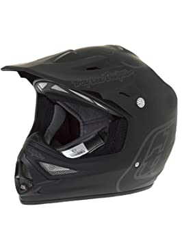 Troy Lee Designs mate negro 2017 aire Midnight 2 MX Casco