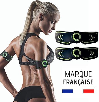 Renforcer WANTALIS Masser Drainer/…/ Sculptez Votre Corps Sans Effort Marque Fran/çaise Garantie CE Pack de 2 Electrostimulateurs Corps Sans Fil 2 Modes 15 Intensit/és Pour Muscler