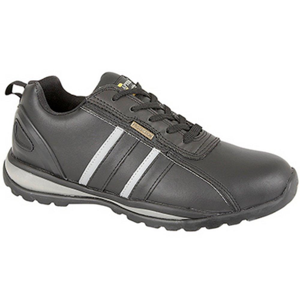Grafters , Unisex - Erwachsene Sneaker Low-Tops , Mehrfarbig - Nero/Grigio - Größe: 37.5