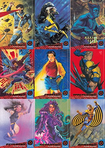 X-MEN 1994 FLEER ULTRA FLEER COMPLETE BASE CARD SET OF 150