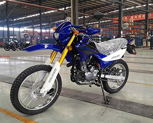 Roketa Dirt Bike-08-250(LHJ) (Blue)