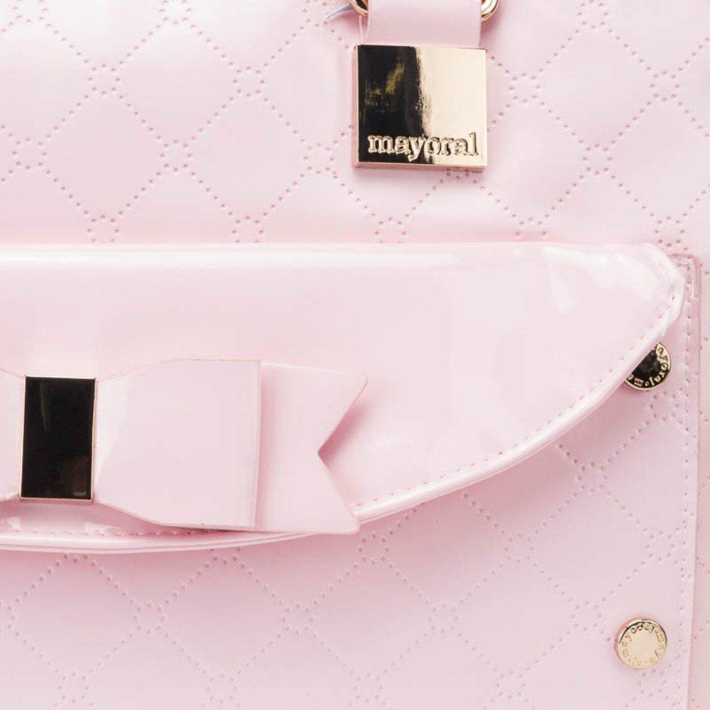 Bolso y Portachupete MAYORAL Charol Color Rosa: Amazon.es: Ropa y ...