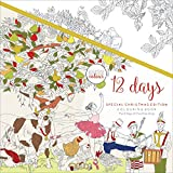 Kaisercraft 12 Days of Christmas Kaisercolour Perfect Bound Coloring Book, 9.75''X9.75''