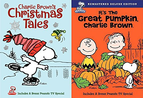 Peanuts Holiday Set - Charlie Brown's Christmas Tales & It's the Great Pumpkin Charlie Brown 2-DVD Bundle (Its A Wonderful Life Miracle On 34th Street)