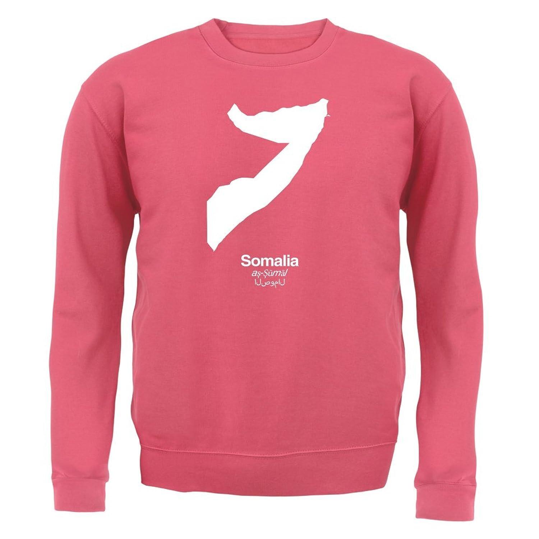 Somalia / Bundesrepublik Somalia Silhouette - Unisex Pullover/Sweatshirt -  Altrosa - XL: Amazon.de: Bekleidung