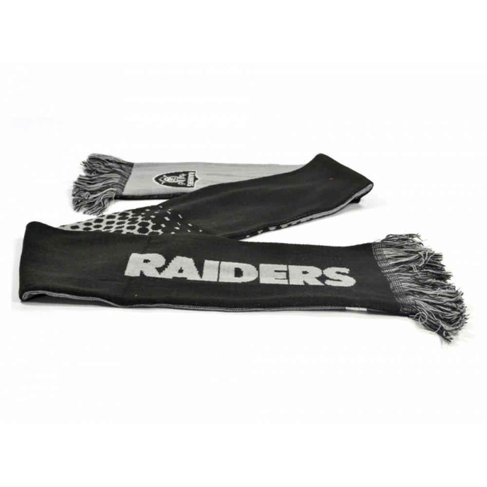 Sciarpa effetto sfumato con stemma Adulti//Unisex Oakland Raiders NFL