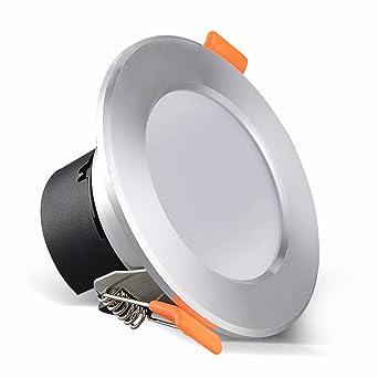 7 3W Soil 5 inch 8cm LED Embedded 2 Spotlight Ceiling Light NvwOm8n0