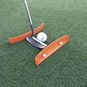 TIBA Putt - Putting Aid for Golf - Portable Golf Putting Alignment and Aim Practice Training Tool
