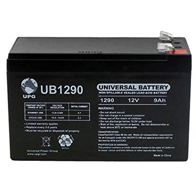 Universal Power Group 12V 9Ah SLA Battery Replacement for Marcum LX-5 3-Color Ice Fishing Sonar : Sports & Outdoors
