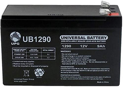 Amazon Com Universal Power Group 12v 9ah Sla Battery Replacement For Liftmaster La 400 D Swing Gate Opener Electronics