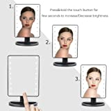 Makeup Mirror - 16 LED Touch Screen Tabletop Vanity