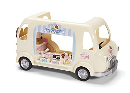 amazon com calico critters ice cream truck toys games