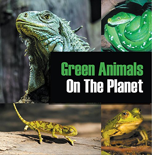 Green Animals Planet Encyclopedia Colorful ebook