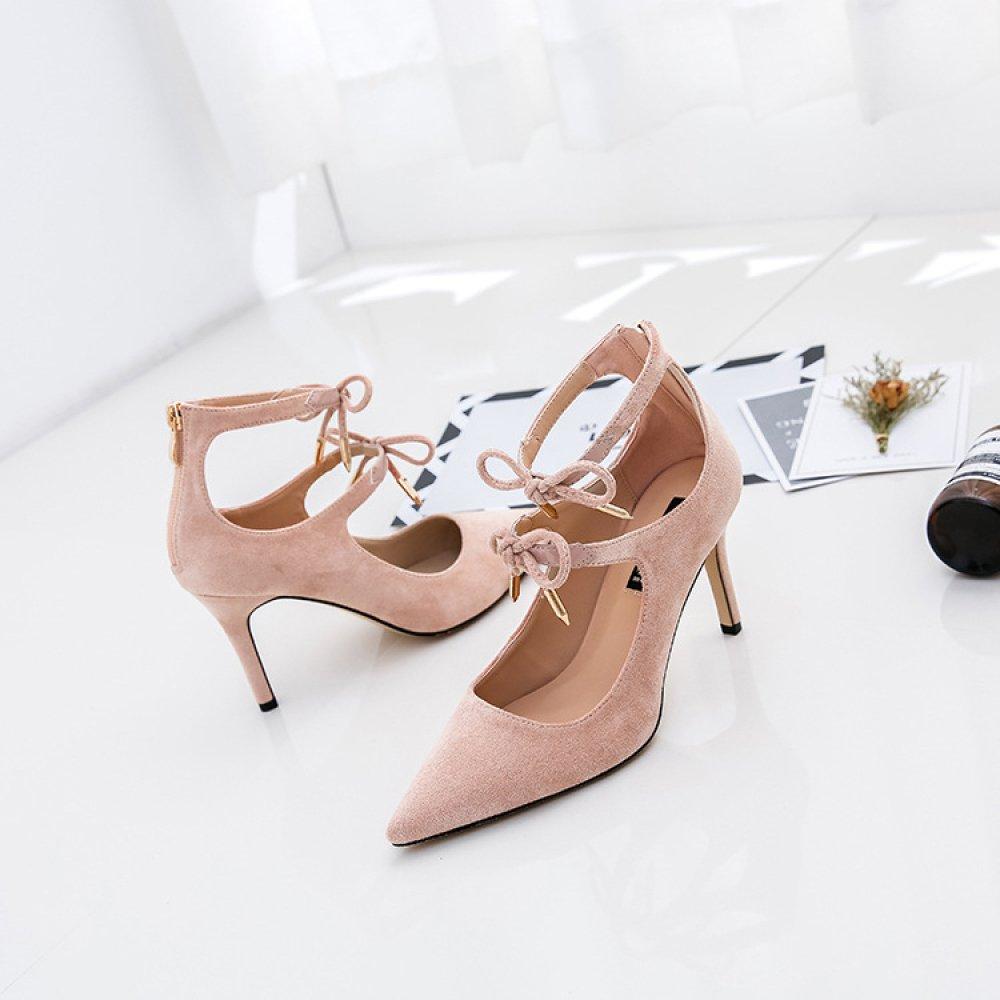 damen damen damen Ties Sexy High Heels Roman Schuhe Party Hochzeit Pumps Damen Schöne Spitzschuh Schuhe b60a87
