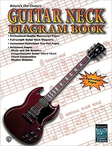 Belwins 21st Century Guitar Neck Diagram Book Alfred Music