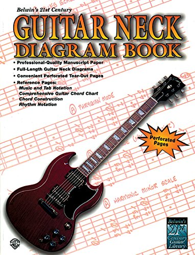 Belwin's 21st Century Guitar Neck Diagram Book (Diagrams Neck Guitar)