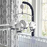 Carousel Designs Gray and Navy Deer Mobile