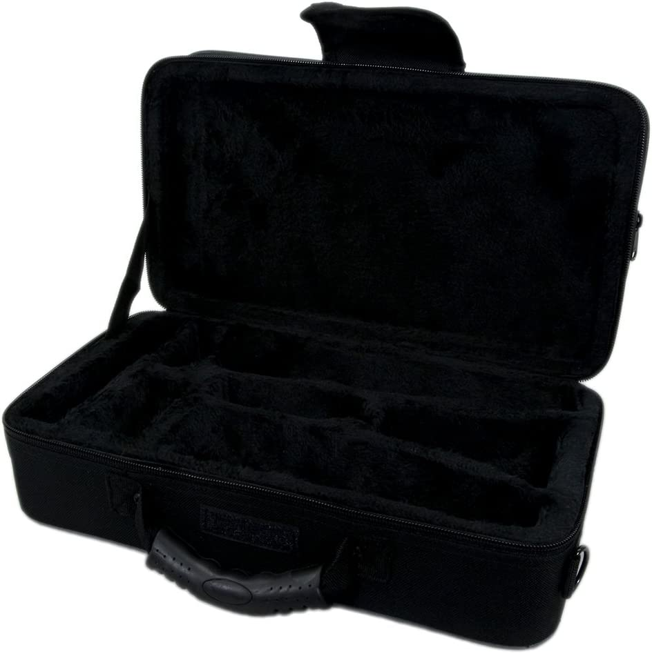 Backpackable Black SKYCLC101 Sky Lightweight Case for Bb Clarinet with Shoulder Strap
