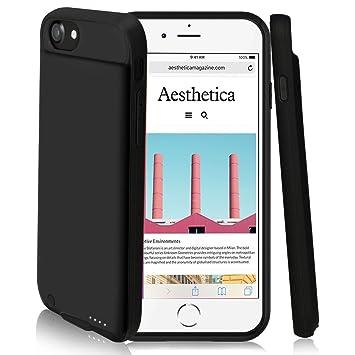 4000 mAh caso de batería para iPhone 8 plus/7 Plus/6 Plus, DING DING batería externa recargable cargador portátil protector Estuche de Carga para ...