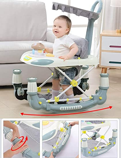 Amazon.com: Baby Walker - Carrito multifunción antipatas ...