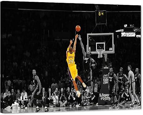 Mamba Mentality Kobe Bryant Canvas Kobe Bryant  Poster Black Mamba Art