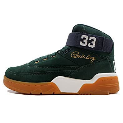 54b06b1c6bce Ewing Athletics 33 Mid Green Navy Gum Basketball Shoes Limited Edition Men:  Amazon.fr: Chaussures et Sacs