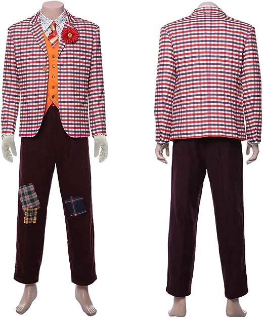Xuyingyi Traje de Joker Traje de Halloween 2019 Película Cosplay Camisa Chaleco Pantalones Traje Traje Payaso Disfraces Ropa para Hombres Adulto Niño: Amazon.es: Productos para mascotas