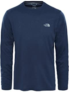 e0a4592c THE NORTH FACE Men's Long-sleeve Simple Dome T-Shirt: Amazon.co.uk ...