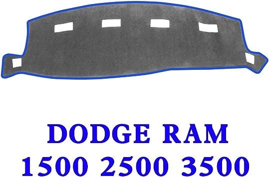 Non-Slip Dashmat For 2002-2005 DODGE RAM 1500 2500 3500 Dashboard Cover Gray Mat